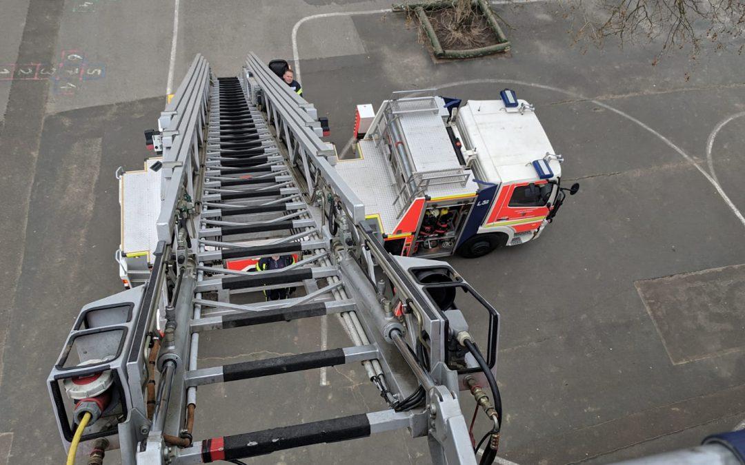 NABU und Feuerwehr gemeinsam aktiv für die Mauersegler