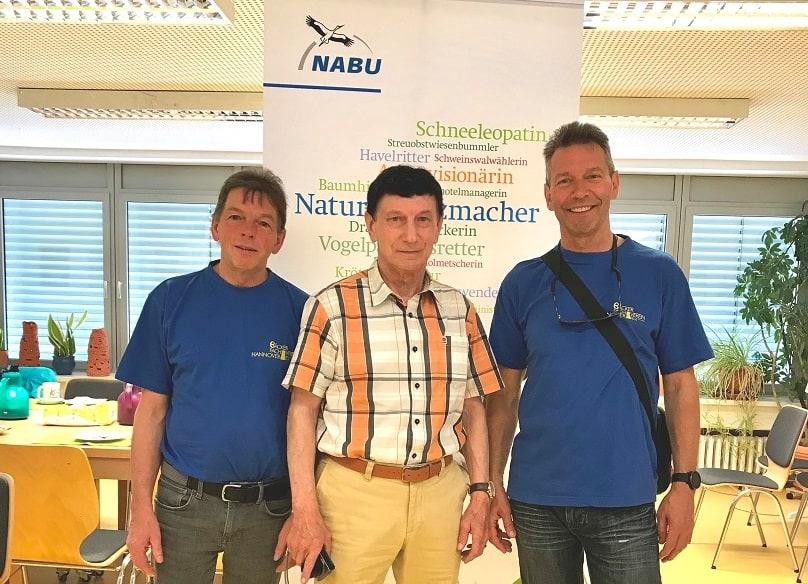 NABU Garbsen bedankt sich bei Amphibienrettern