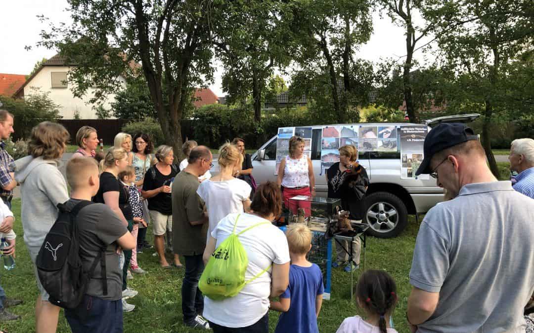 Batnight 2019 – große Kinderaugen und über 100 Fledermäuse