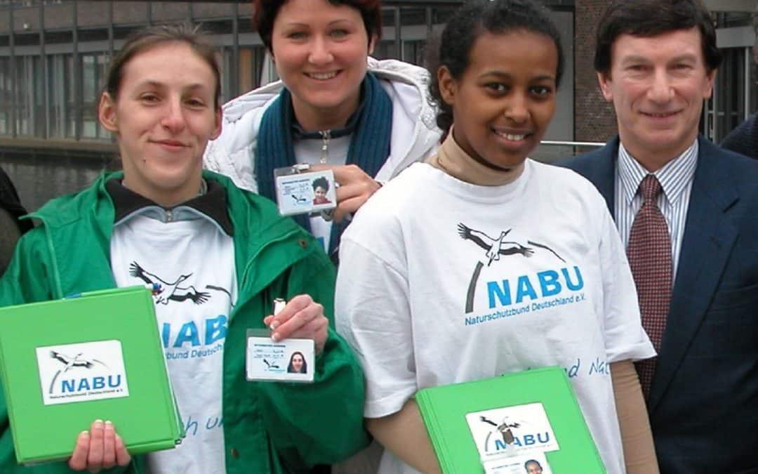 NABU Garbsen wirbt ab 16.09.2019 neue Förderer und Mitglieder